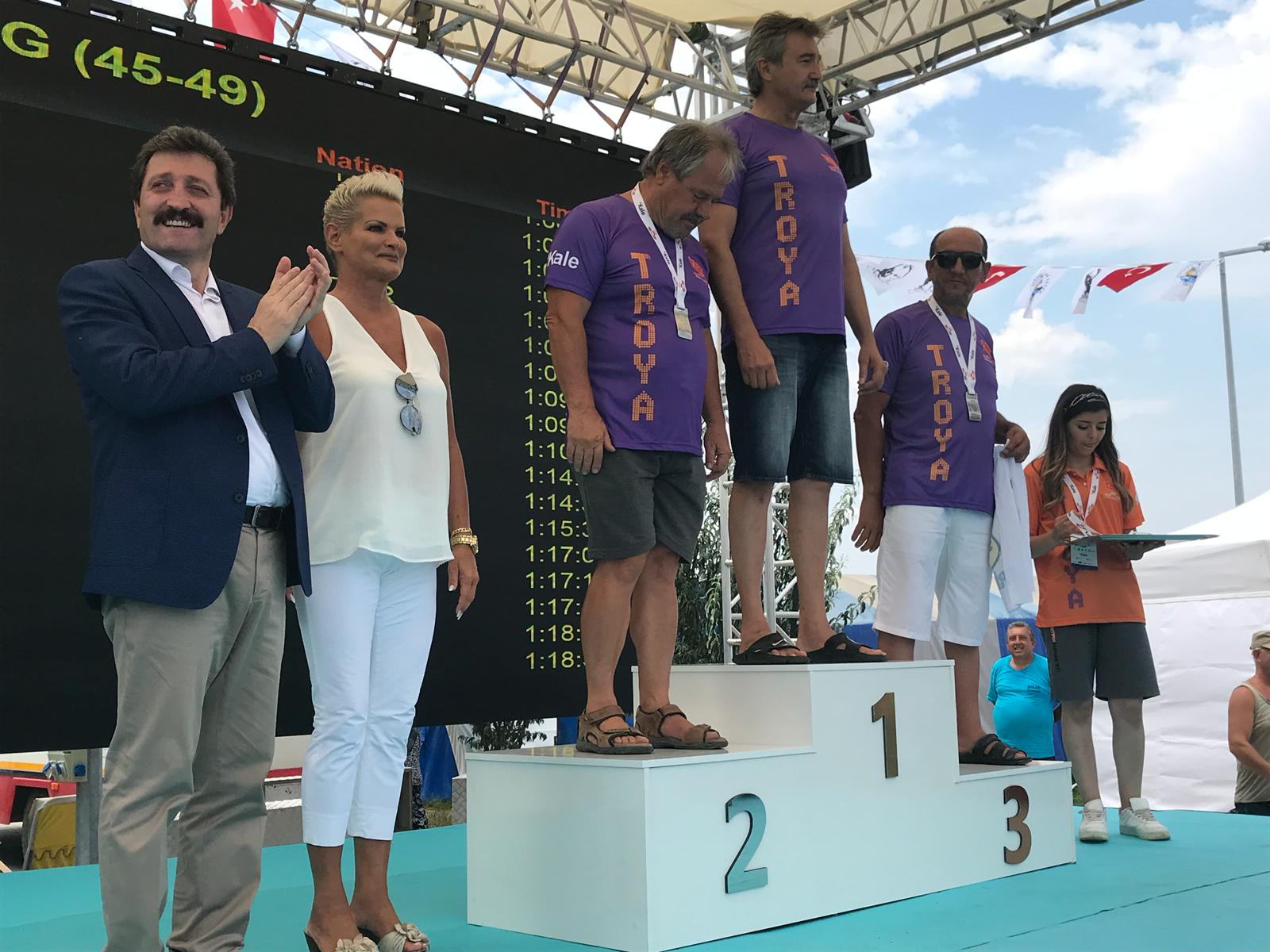 TROYA OPEN WATER SWIMMING COMPETITION 2018